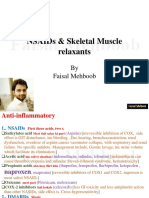 NSAIDs & Skeletal Muscle Relax