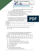 Distribuições de Probabilidades