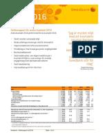 Delårsrapport kv2 2016