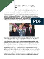 Giuseppe Lasco Terna, progetto Sicurezza in rete con la Guardia di Finanza