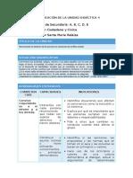FCC - Planificación Unidad 4 - 1er Grado 2016