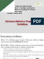 Estrutura Atômica e Propriedades Periódicas
