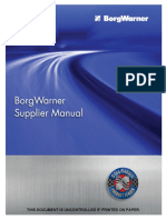 GSM-P001 BorgWarner Supplier Manual_2014-06