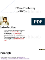 14.Short Wave Diathermy (SWD)