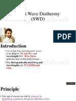 14.Short Wave Diathermy (SWD)