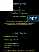 Bonds and Energy Levels PPt Creat Chem