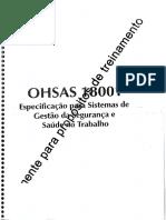 OHSAS18001_1999 Versao Treinamento