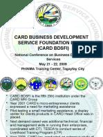 Card Bdsfi