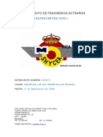Avistamiento de OVNI en Tenerife y las Palmas (Islas Canarias) - (17/9/1968)