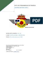 Avistamiento de OVNI en Castellbisbal (Barcelona) - (6/11/1968)