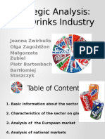 Soft Drinks Industry Strategic Analysis