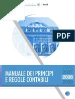 Contabilità Pubblica - Manuale Dei Principi e Regole Contabili - Ed2008