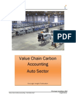 Value Chain Carbon Accounting - Auto Sector