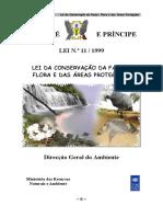 Lei de Conservação Da Fauna, Flora e Das Áreas Protegidas