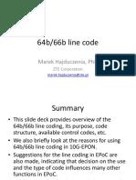 64b 66b Encoding