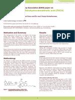 Decarboxylation of Tetrahydrocannabinolic acid (THCA) to active THC