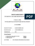 FSD Assignment Report