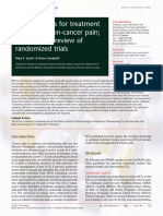 Cannabinoids for Treatmentof Chronic Non-cancer Pain