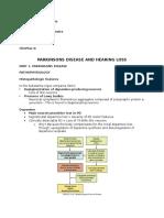 Parkinsons Disease and Hearing Loss