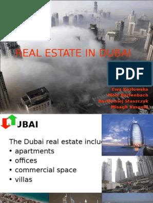 Real Estate in Dubai - Presentation | Dubai | United Arab