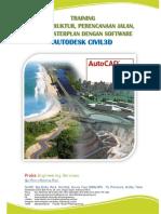 2016 Materi Training Perenc, Lahan, Jalan Dan Infra Dengan Civil3D