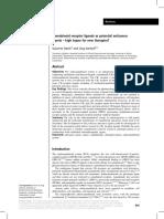 Cannabinoid Receptor Ligands as Potential Anticancer