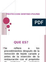 PROTECCION DENTINO-PULPAR
