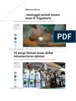 Kasus Makanan Dan Minuman Oplosan