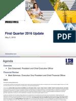 Q1 2016 Earnings Presentation-1