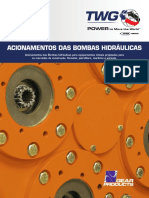 Hydraulic Pump Drives Catalog Portuguesemetric