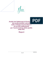 Report Analisi Fabbisogni Def