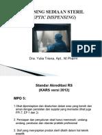 Dispensing Sediaan Steril KARS.pptx
