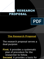 The Research Proposal Chapters 1 3