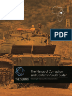 Report Nexus Corruption Conflict South Sudan, The Sentry