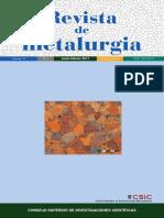 Revista de Metalurgia - España