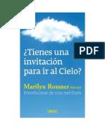 Rossner Marilyn - Tienes Una Invitacion Para Ir Al Cielo