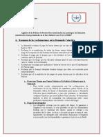 Resumen de las reclamaciones en la Demanda Colectiva Policía de P.R.