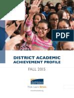 District Profile Fall 2015 FINAL