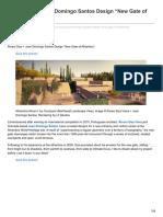 Design New Gate of Alhambra Alvaro Siza