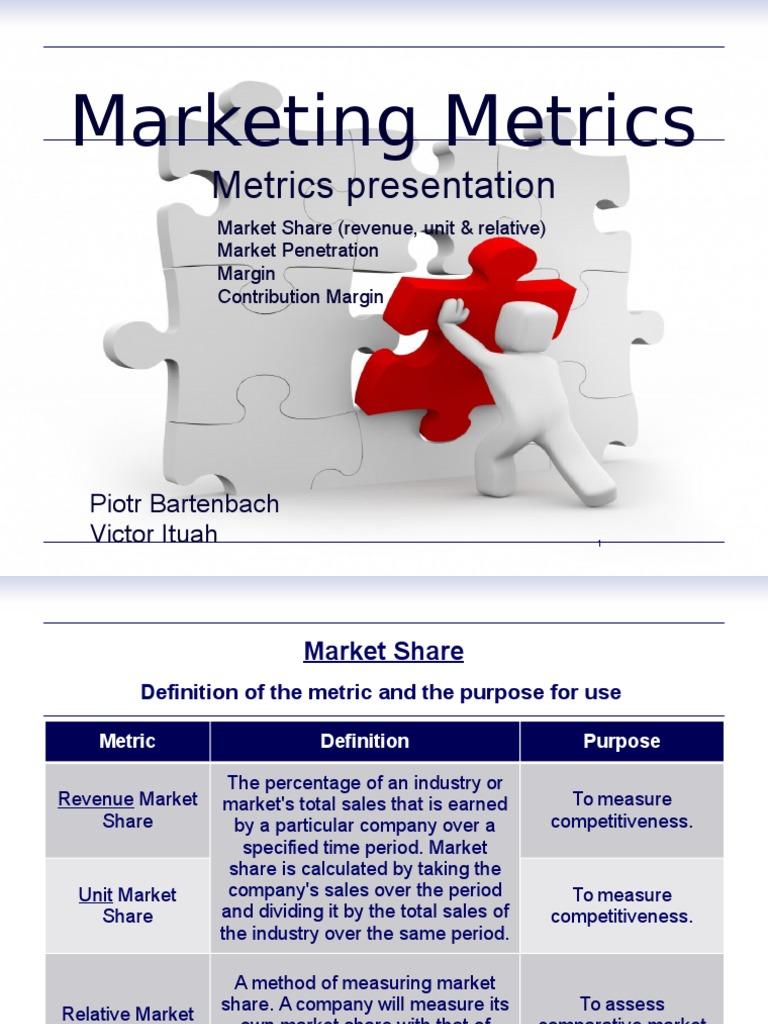 Measuring market penetration