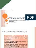 TEMA 2- Modalidades Temporal