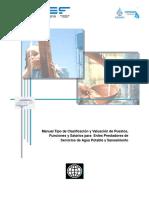 Manual de Puestos y Salarios Con Formulas