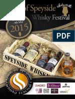 Spirit of Speyside Whisky Festival 2015 Brochure