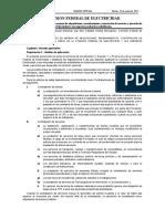 Disposiciones Generales en Materia de Adq Arrend y Serv de CFE- Dof 23jun2015