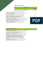 Cálculo Comparativo EV vs MCI Fds