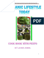 Organic Lifestyle Today Cook Book With Pesto