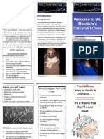 classroom brochure