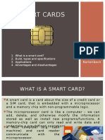 Short presentation about Smart Cards