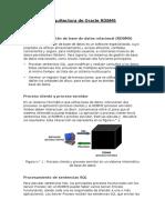 Arquitectura de Oracle RDBMS v1.0