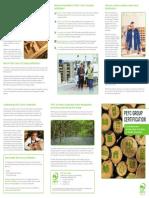 PEFC Group Certification Brochure Web - Final